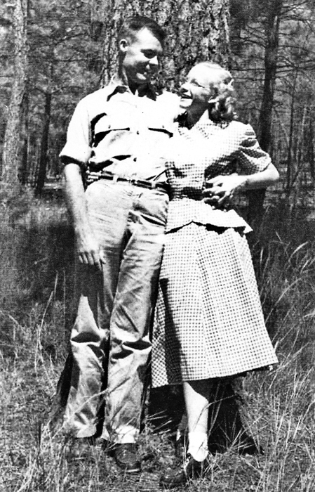 Chester Green and Ada Ruth Martin, 1948